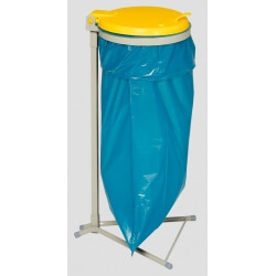 Support 120 litres sac poubelle fixe