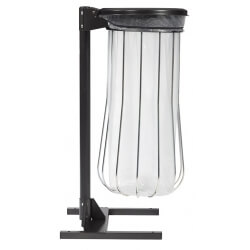 Entourage Filaire Metal vigipirate 80L - Chrome - Ligne Collec